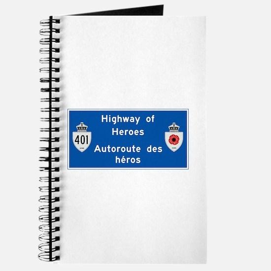 Highway of Heroes 410, Canada Journal