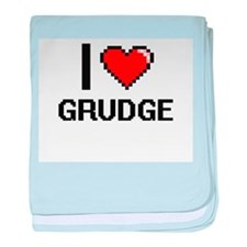 I love Grudge baby blanket
