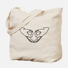 Grow a pair (of ovaries) Tote Bag