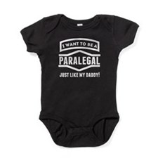 Paralegal Just Like My Daddy Baby Bodysuit
