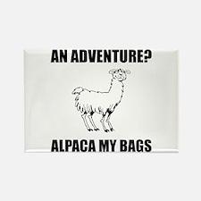 Alpaca My Bags Magnets
