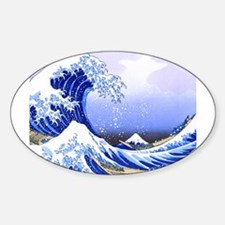 Surfs Up The Great Wave King Duvet Decal