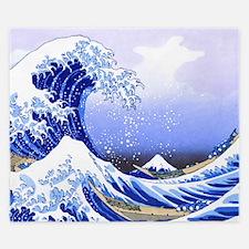 Surfs Up The Great Wave King Duvet King Duvet