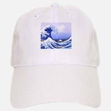 Surfs Up The Great Wave Cap