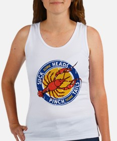 Suck Some Heads PInch Some Tails Tank Top