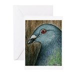 Homer Head Greeting Cards (Pk of 20)
