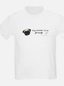 Cute Big brother pug T-Shirt