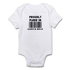 Proudly Made in Costa Rico Infant Bodysuit