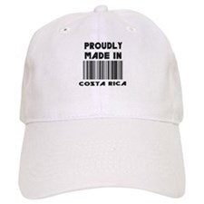 Proudly Made in Costa Rico Baseball Cap