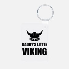 Daddy's Little Viking Keychains