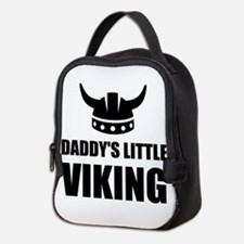 Daddy's Little Viking Neoprene Lunch Bag
