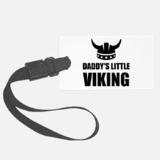 Daddy's Little Viking Luggage Tag