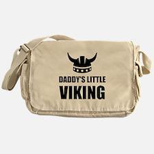 Daddy's Little Viking Messenger Bag
