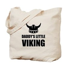 Daddy's Little Viking Tote Bag