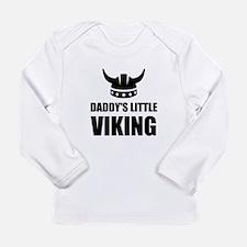 Daddy's Little Viking Long Sleeve T-Shirt