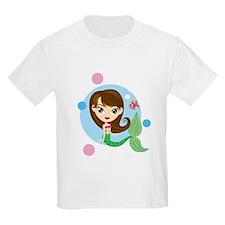 Brunette Mermaid T-Shirt