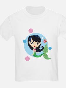 Dark Haired Mermaid T-Shirt