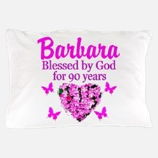 BLESSED 90TH Pillow Case