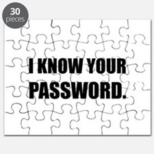 Know Your Password Puzzle