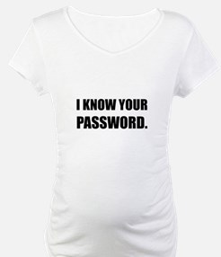 Know Your Password Shirt