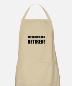 Legend Has Retired Apron
