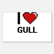 I love Gull Decal
