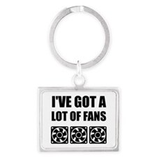 Lots Of Computer Fans Keychains