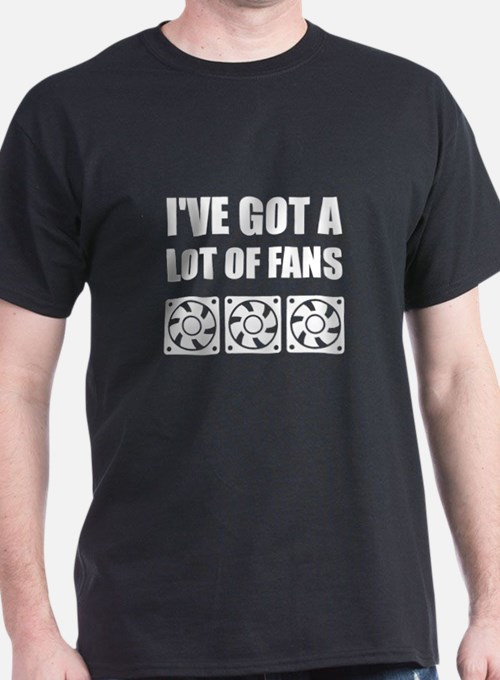 Lots Of Computer Fans T-Shirt