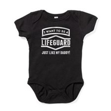 Lifeguard Just Like My Daddy Baby Bodysuit