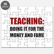 Teaching Money Fame Puzzle