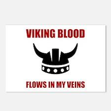 Viking Blood Postcards (Package of 8)