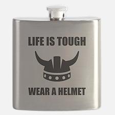 Viking Helmet Flask