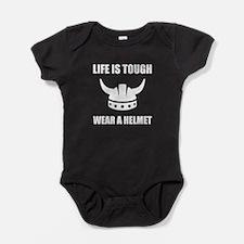 Viking Helmet Baby Bodysuit