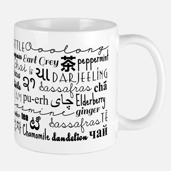 Tea Words Mugs