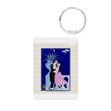 Barbier Love Couple, Oui! Keychains