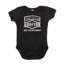 Auditor Just Like My Mommy Baby Bodysuit