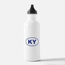 Kentucky KY Euro Oval Water Bottle