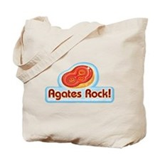 Agates Rock! Tote Bag