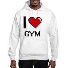 I love Gym Hoodie