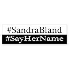Funny Sandra Bumper Sticker