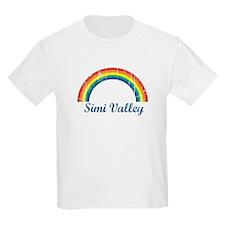 Simi Valley (vintage rainbow) T-Shirt