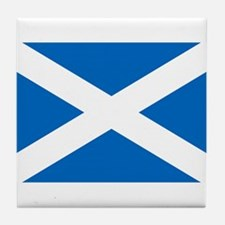 SCOTLAND FLAG Tile Coaster