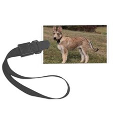 berger picard puppy Luggage Tag