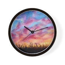 Prairie Light Wall Clock