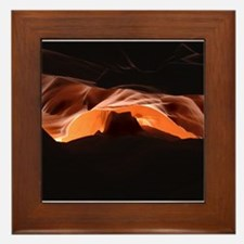 Cute Antelope canyon Framed Tile