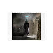 Mystical Castle 5'x7'Area Rug