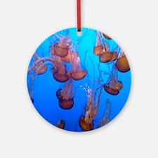 Underwater Jellyfish Ornament (Round)
