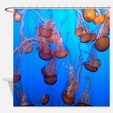 Underwater Jellyfish Shower Curtain