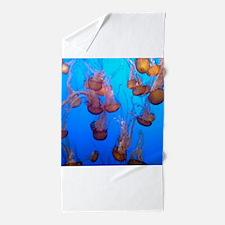 Underwater Jellyfish Beach Towel