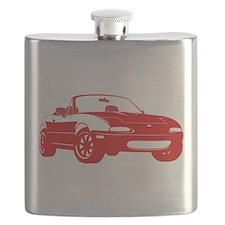 NA Red Flask